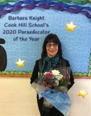 Cook Hill School Para-Educator of the Year
