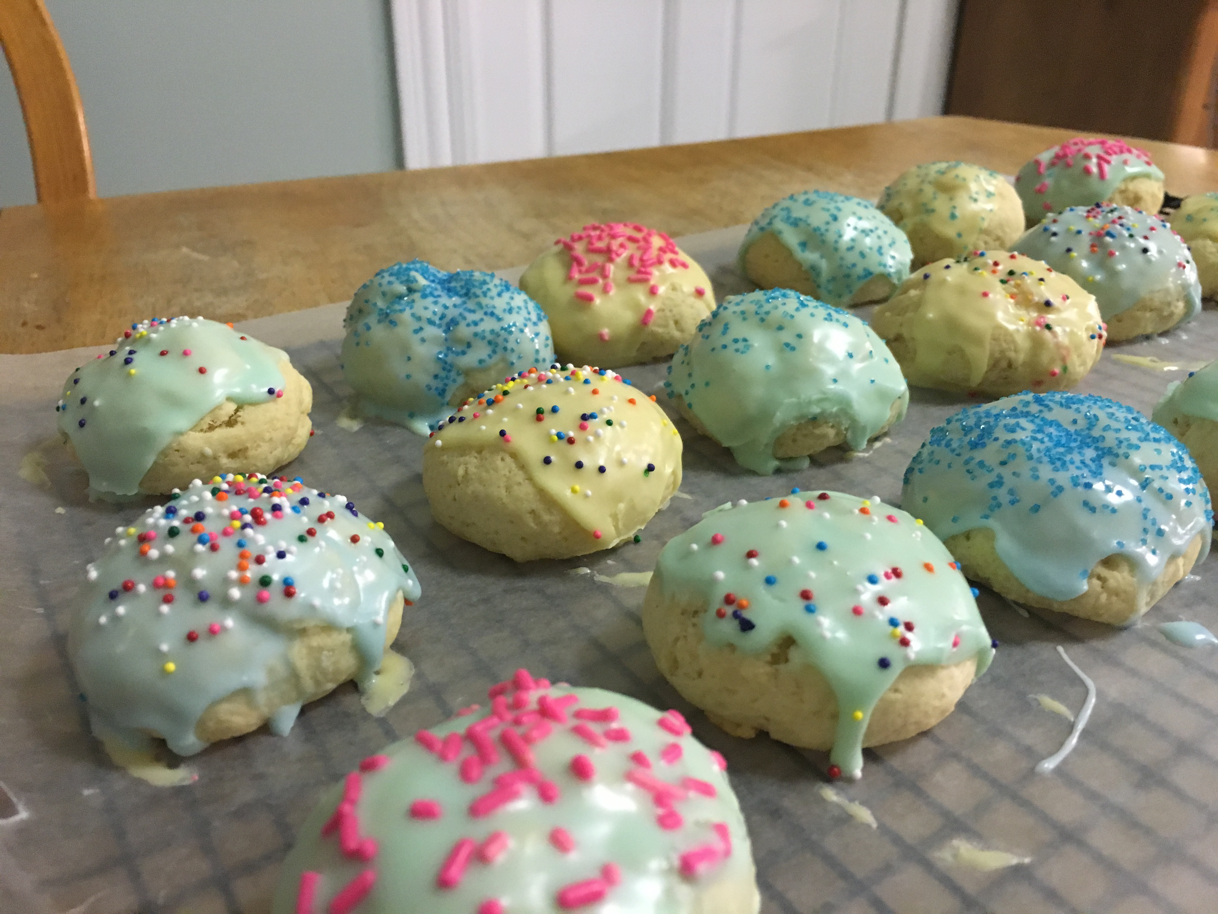 Image of Frosted Italian Cookies